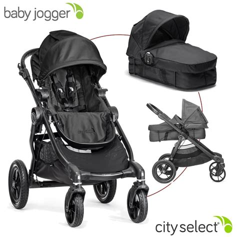 Set Baby City by Baby Jogger City Select Kombikinderwagen Set Mit Wanne