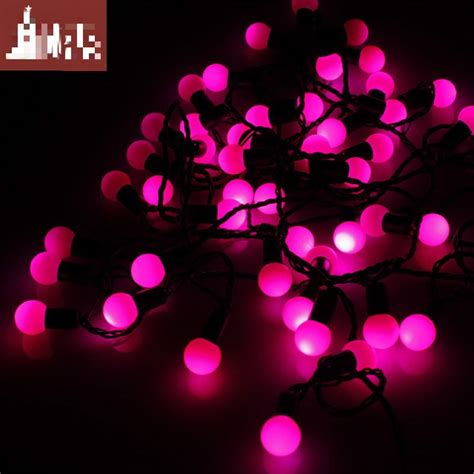 neon pink christmas lights photo collection best pink light balls