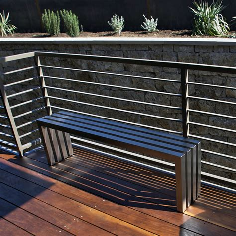 linear bench linear bench stainless steel 58 sarabi studio