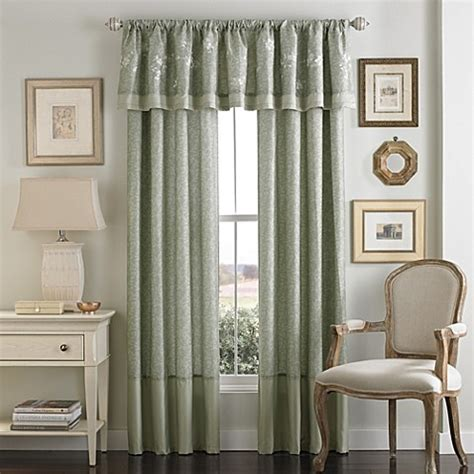bed bath and beyond window treatments verona window valance bed bath beyond