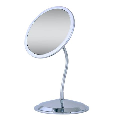 Zadro Vanity Mirror by Zadro Vision Gooseneck Vanity Mirror In Chrome Fg50