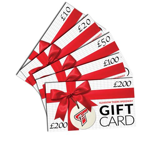 Gift Cards For Fans - gift cards glasgow tigers speedway