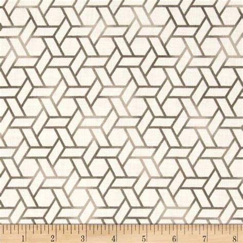 grey hexagon pattern fabric michael miller all the trimmings hang the ornaments candy