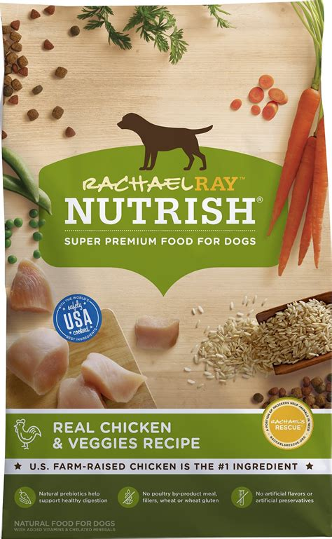 rachael puppy food rachael nutrish chicken veggies recipe food 28 lb bag chewy