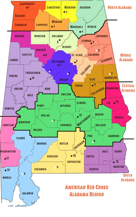 alabama in usa map map of alabama cities counties state map of usa