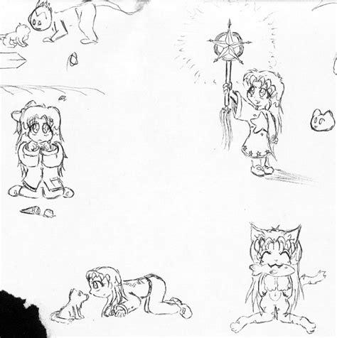 doodle anime random anime doodles by neotechni on deviantart