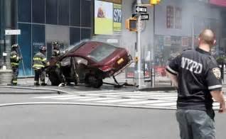 car new york car rams pedestrians in new york s times square kills 1