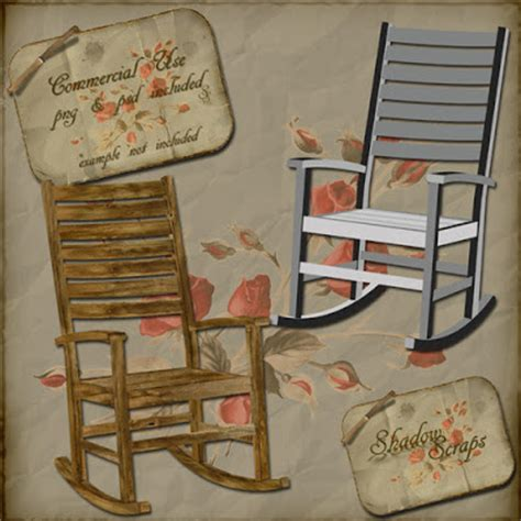 shadow scraps cu rocking chair template