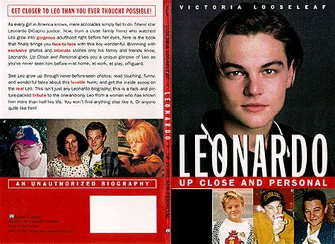 leonardo dicaprio biography book the looseleaf report dot com the book