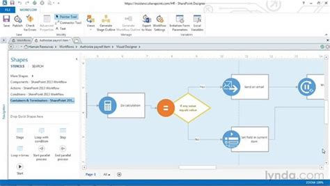 Draw 3d Online importing and customizing a visio workflow in sharepoint
