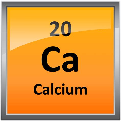 Calcium On Periodic Table by 020 Calcium Science Notes And Projects