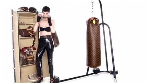 Posh Steps Out In A Sack by Fab Punches The Lv Luxury Punching Bag Bornrich