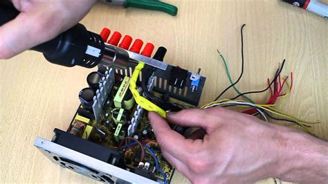pc power supply as bench power supply converting computer atx power supply to lab bench power supply youtube