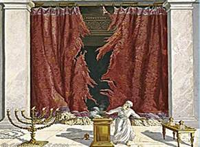 the torn curtain torn temple curtain