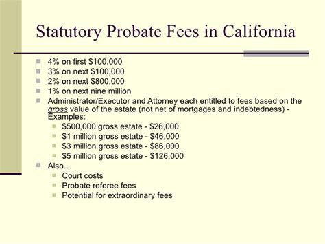 Mba In California Fees by Advanced Estate Planning Beyond Wills