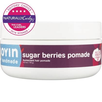 Oyin Handmade Burnt Sugar Pomade - oyin handmade sugar berries pomade 4 oz naturallycurly