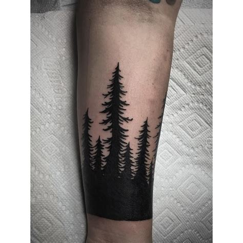 black tree tattoo black trees blackestblack matt a tatt tat