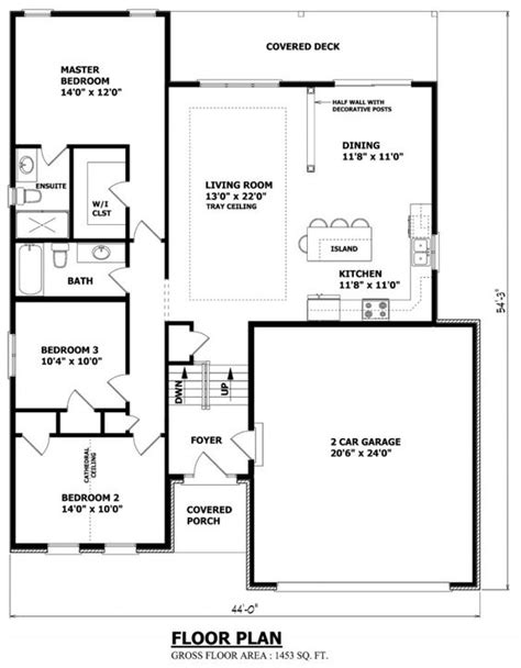 raised bungalow floor plans narrow raised bungalow canadian home designs custom