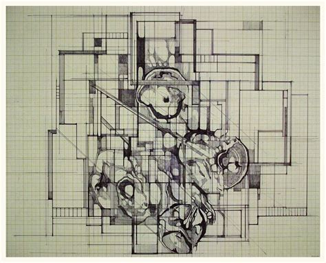 floor drawing quot floor plan for a new personality quot megan mcglynn architectural drawing pen and ink www