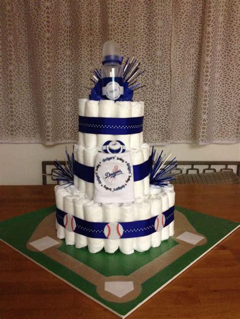 pin dodger baby shower cake pic4 babyshower parents don t