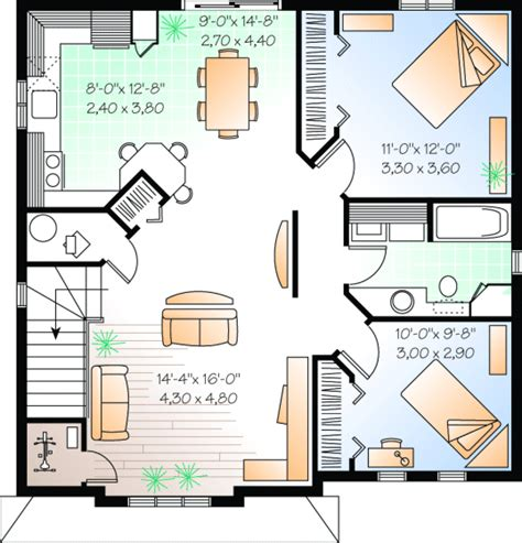 up duplex house plan hunters