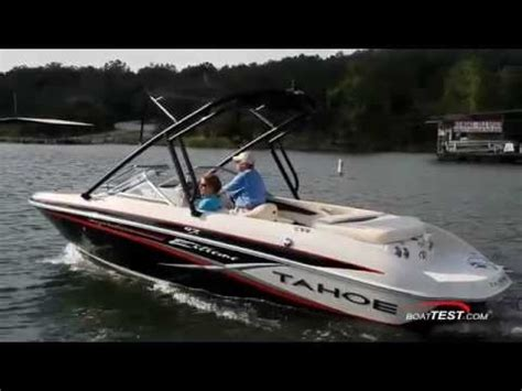tahoe boat reviews tahoe boats 2014 q7i extreme complete review by boattest