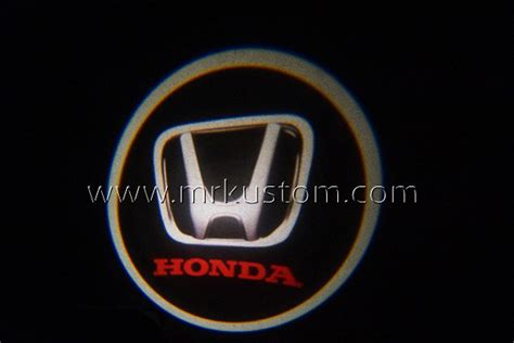 Door Light Pintu Logo Honda honda led door projector courtesy puddle logo lights mr kustom auto accessories and customizing