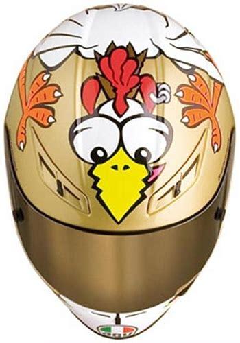 Helm Agv Chicken agv launches the chicken gp tech helmet edition autoevolution