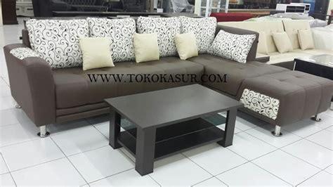 Set Sofa Bed Meja Kursi Tamu Sudut Minimalis Furniture Living Room kursi tamu sofa l sudut murah minimalis