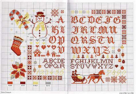 lettere di auguri natalizi schemi per alfabeto numeri ed auguri natalizi a punto a croce