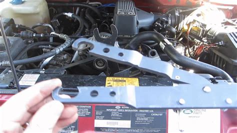 how to remove fan clutch remove fan viscous clutch land rover discovery