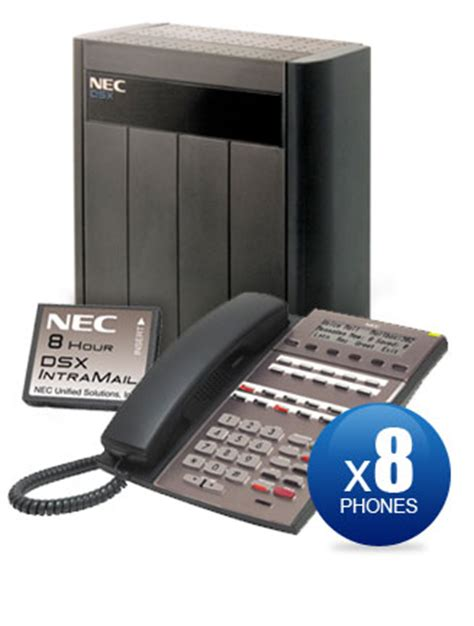 Nec Dsx Reset Voicemail Password | nec dsx 80 kit with 8 22 key phones intramail