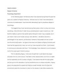 jackson reflection paper