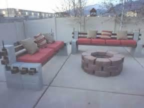 cinder block patio furniture 25 best ideas about cinder block furniture on