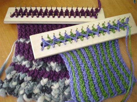 rectangle loom knitting 105 best telar circular y rectangular images on