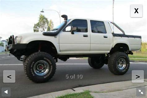 lifted toyota tas for sale 1994 toyota hilux 4x4 rn105r car sales nsw sydney west