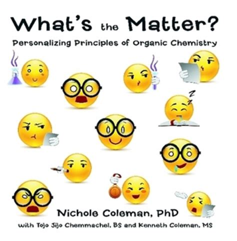 what s the matter coleman phd uses everyday imagery to personalize