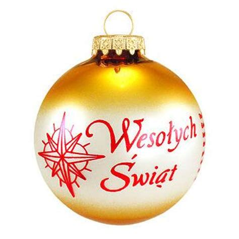 polish christmas custom ornament ethnic pride
