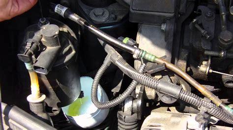 Hose Pressure Kia Carnival Bensin fuel filter change step by step