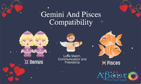 gemini and pisces love compatibility and friendship