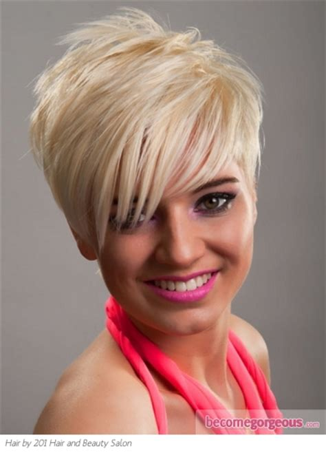 haircut choppy with points photos and directions pictures short hairstyles stylish short platinum pixie
