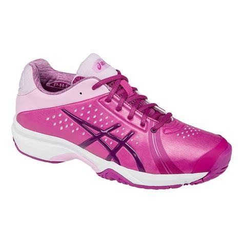 asics gel court womens tennis shoe berry plum