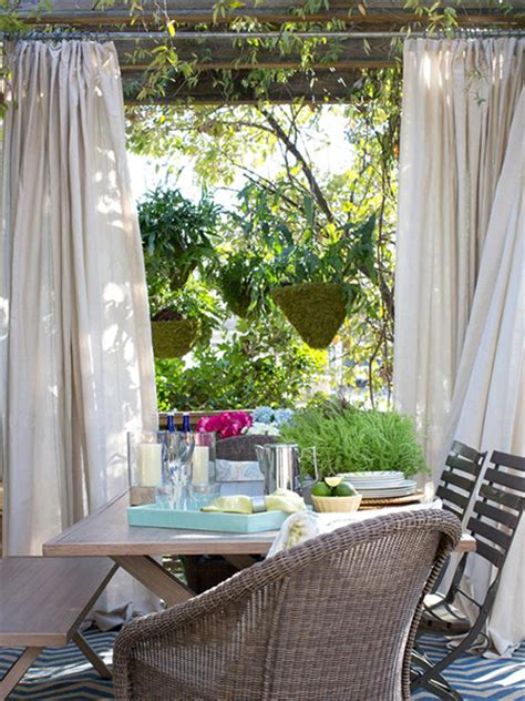 vorhang outdoor home dzine garden make the most of your outdoor living areas
