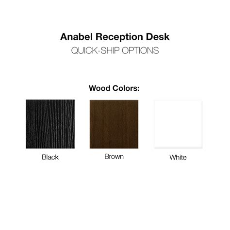 Reception Hostess Hair Salon Desk Anabel Anabel Reception Desk