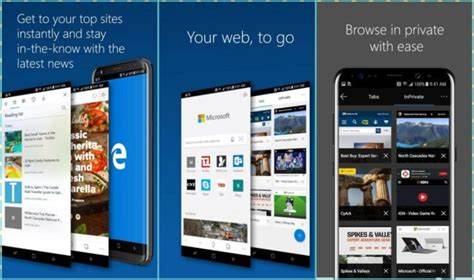 edge apk microsoft edge preview su android disponibile al ecco dove hwbrain it