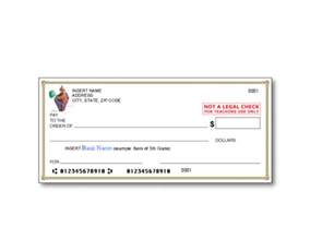 Bank Check Template by Education World Bank Check Template