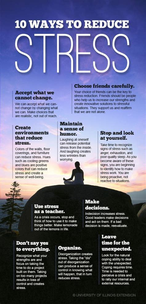 reduce anxiety 10 ways to reduce stress and improve your mental