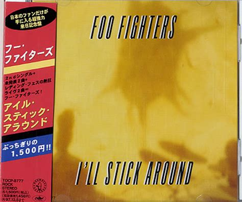 Cd The Sugarcubes Stick Around For foo fighters i ll stick around records lps vinyl and cds musicstack