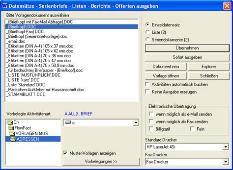 Word Vorlage Platzhalter Flowfact Platzhalter
