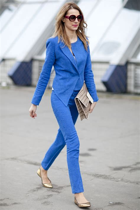 Fashion Blue chic blue style inspiration 2018